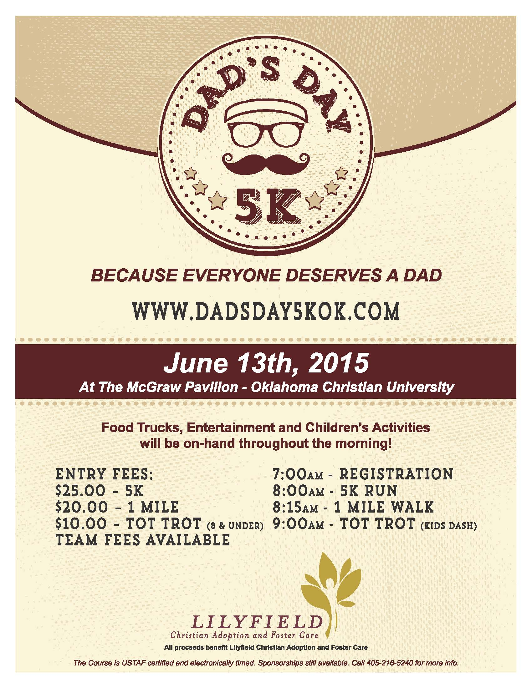 dad day flyer