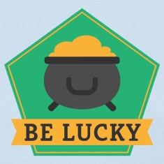 Lucky-Pot-of-Gold---St.-Patrick-s-Day-Women-s-T-Shirts