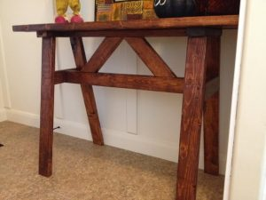 2×4-Entry-Way-Table